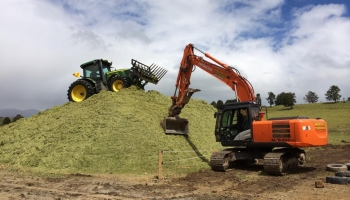 Full Pit Silage